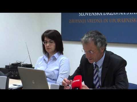30.04.2015 Novinarska konferenca statističnega urada Republike Slovenije