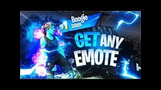 «NOUVEAU» COMMENT À GET ANY EMOTE IN 'FORTNITE BATTLE ROYALE'