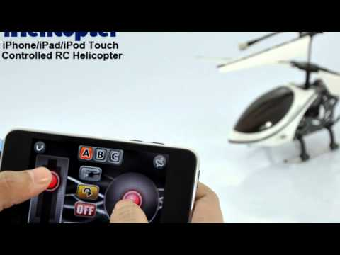 iPhone-iPad-iPod Touch Controlled RC Helicopter