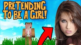 PRETENDING TO BE A GIRL WITH VOICE CHANGER TROLL (Minecraft Trolling)