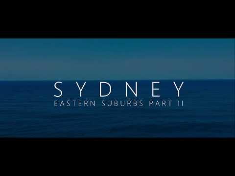 SYDNEY eastern suburbs Part II DJI Spark Footage