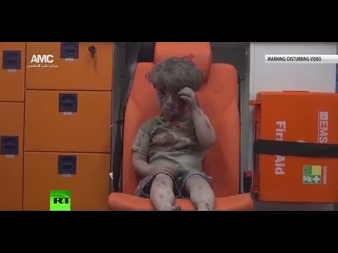 #AleppoBoy: 'There's media manipulation over this image'