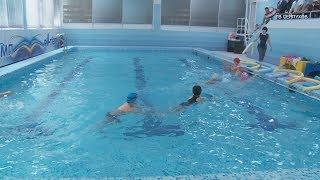 Во Дворце спорта «Олимп» после капитального ремонта открылся Малый бассейн
