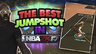THE BEST FINAL JUMPSHOT IN NBA 2K17! • GREEN RELEASE ON EVERY SHOT! • NBA 2K17