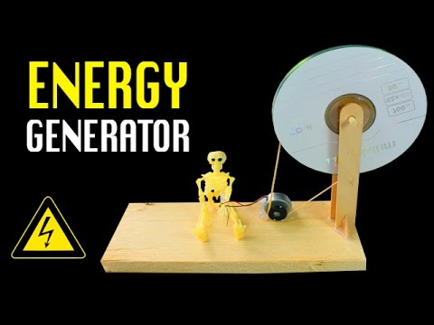 Homemade Power Generator | DIY Free energy Generator.