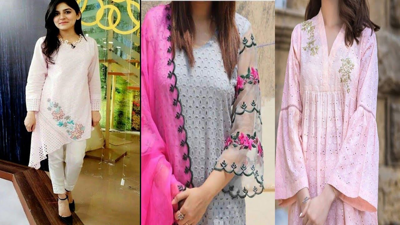 Chikankari Collection   Beautiful Chikankari Dresses Designs By Beauty fashion star