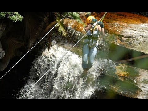 Zipline Tours in the Tsitsikamma forest, South Africa