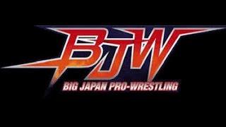 BJW Big Japan Pro Wrestling Strong BJ project