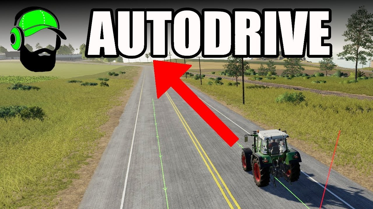 Farming Simulator 19 - Autodrive Tutorial- Connecting to main