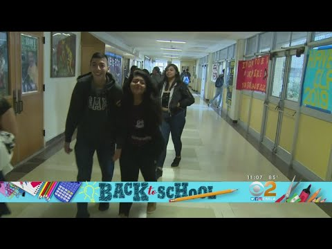 LAUSD Students Go Back To School