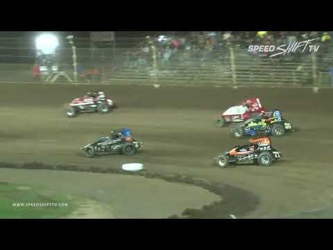 "USAC National Sprint Car ""Kokomo Smackdown VII"" Highlights | Kokomo Speedway 9.27.18"