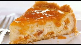 No Bake Apricot Cheesecake  INDIAN RECIPES  WORLDS FAVORITE RECIPES  HOW TO MAKE