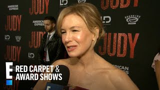 "Renee Zellweger Talks Preparation for Dream Role in ""Judy"" 