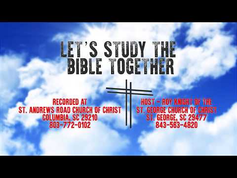 Let's Study the Bible Together - Lesson 19 - Acts 10:1-23