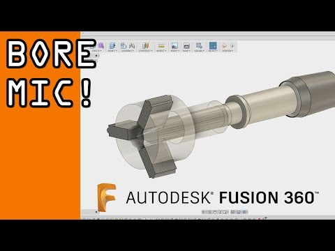 Fusion 360 Advanced Joints & Motion Link Tutorial: Bore Mic! FF78