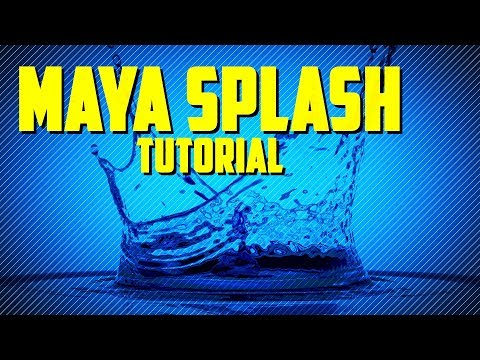 Tutorial: Creating A Water Splash In Maya 2018 With Bifrost
