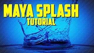 Tutorial: Creating A Water Splash In Maya 2018 With Bifrost