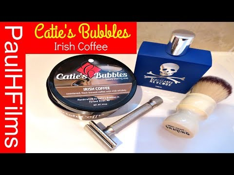 Catie's Bubbles - Irish Coffee - Luxury Shaving Soap