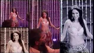 Sizzling Mallika Sherawat in Making Of Jalebi Bai - Double Dhamaal