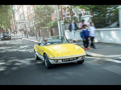 Thoughts On Lotus Evija EV Hypercar Plus Driving My Elan Sprint Into London