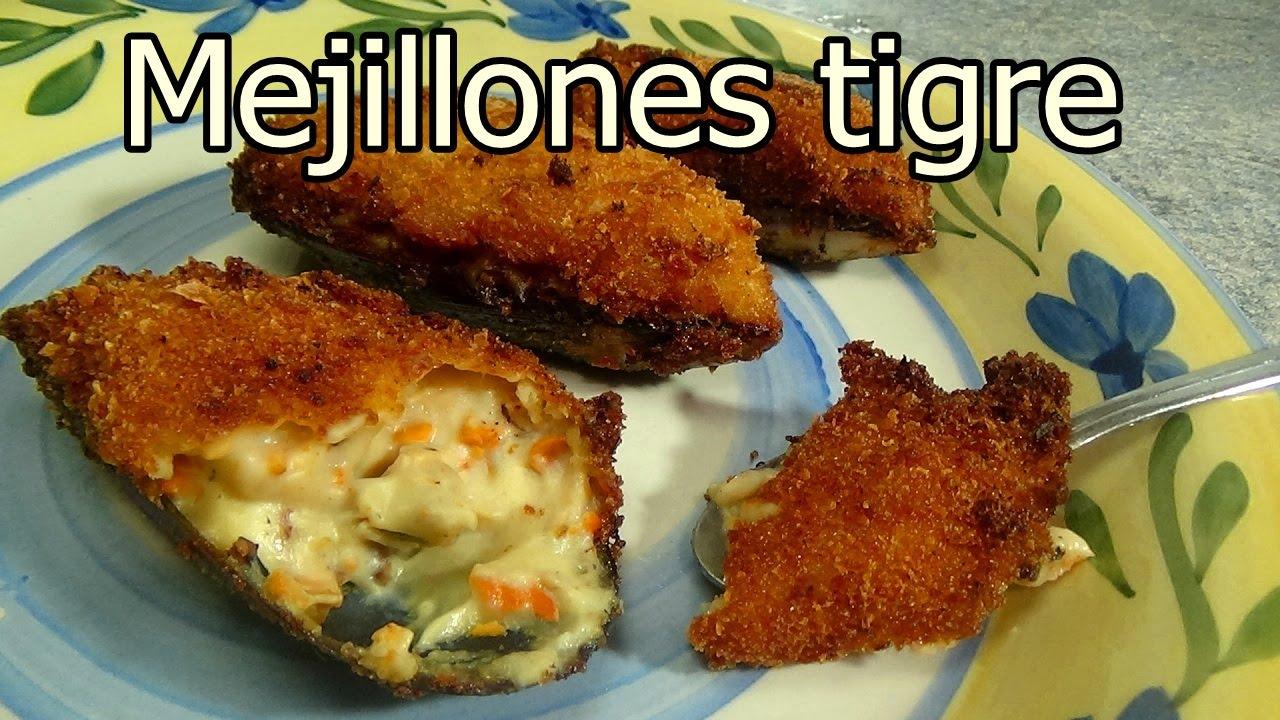 Mejillones tigre croquetas de mejillon recetas de for Cenas faciles y economicas