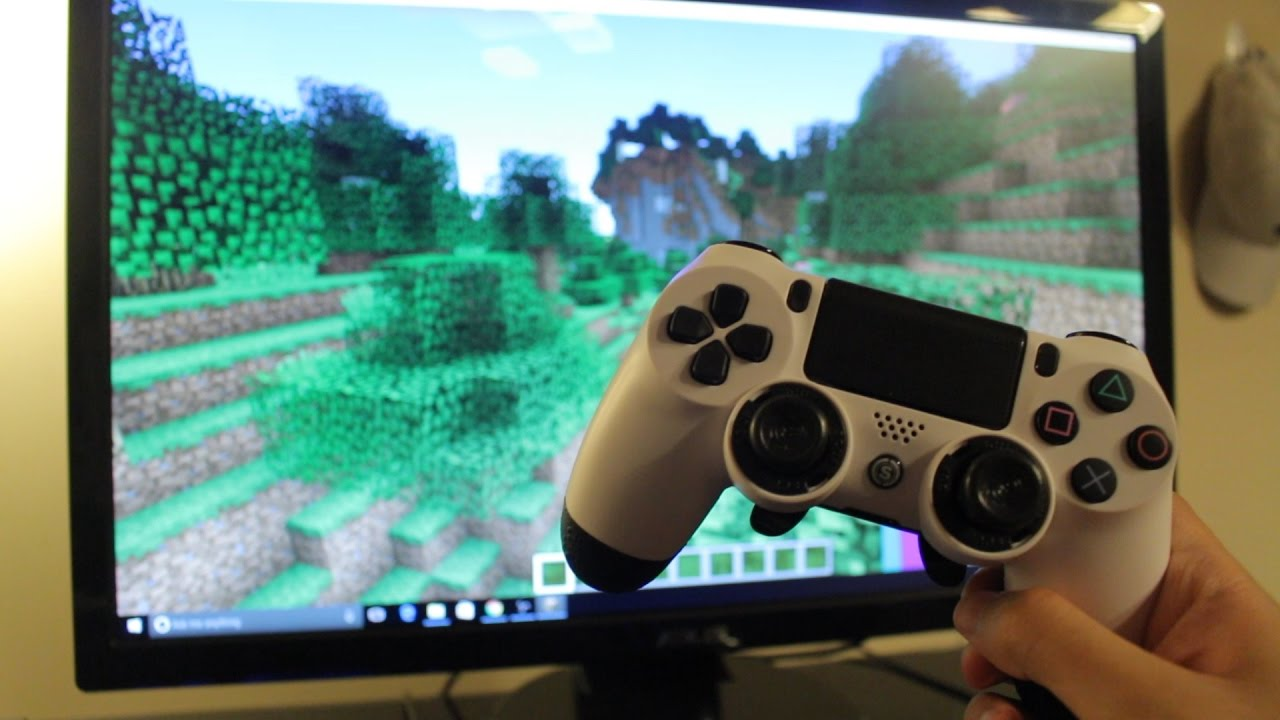 How To Connect A PS Controller To PC TO PLAY GAMES EASY METHOD - Minecraft pc mit pad spielen