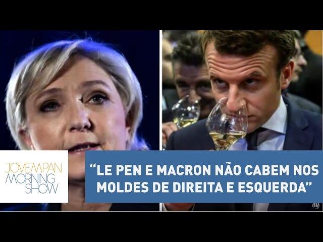 "Helen: ""Le Pen e Macron não cabem nos moldes de direita e esquerda""   Morning Show"