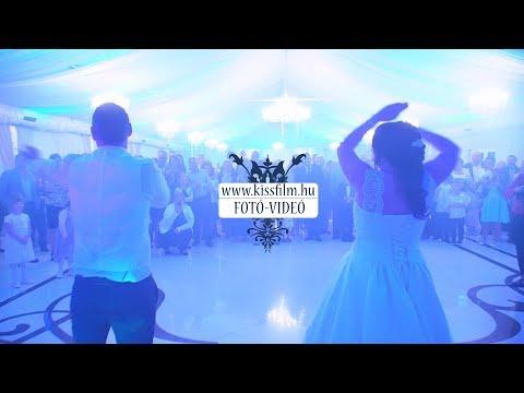Esküvői nyitótánc  - Magyar Talléros Rendezvényház, Nyírtass (Marcsi+Tibi)/KISSFILM.HU