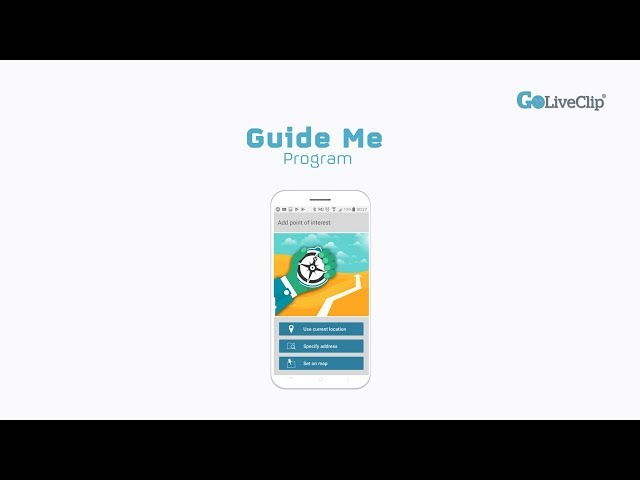 GoLivePhone Guide Me Program