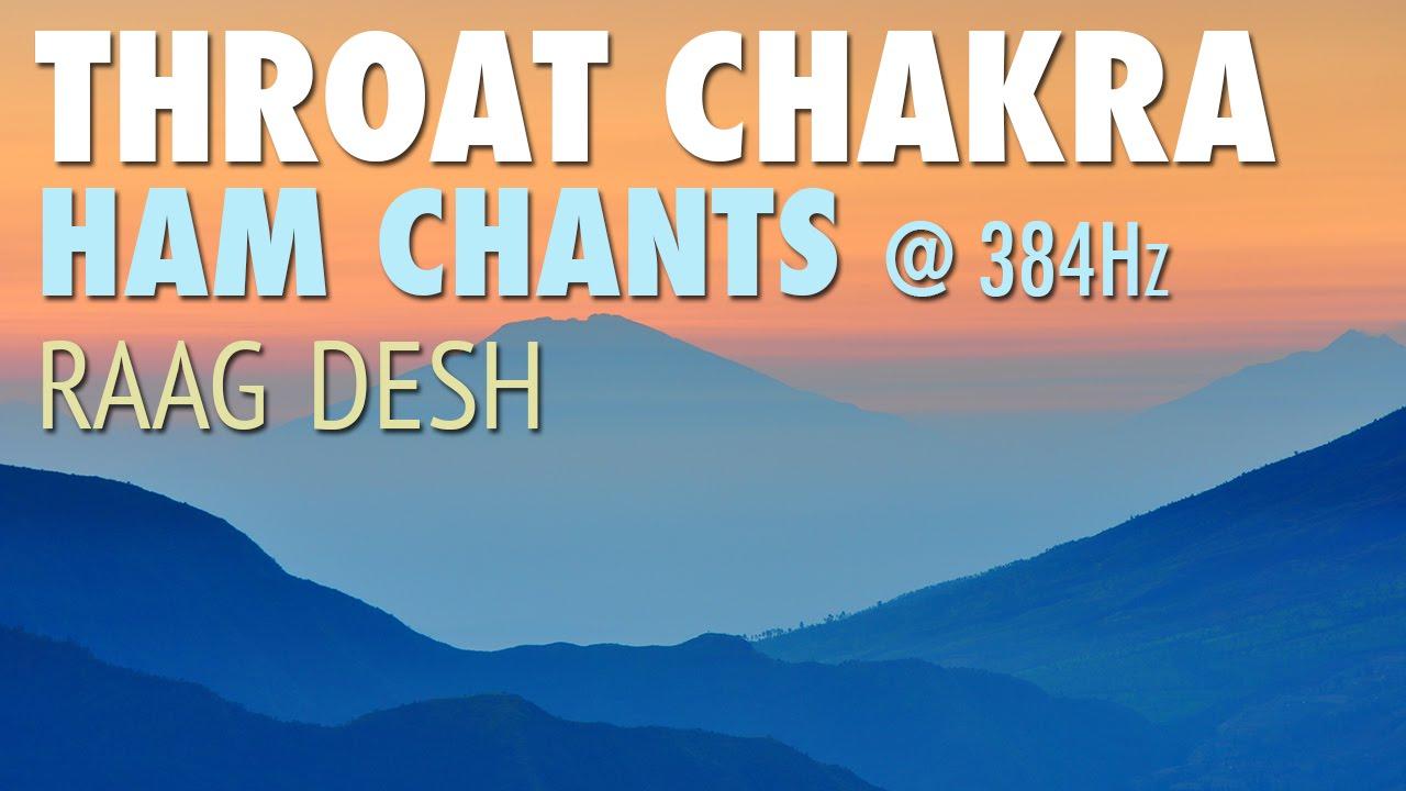 Throat Chakra Meditation | HAM Chants | Raag Desh | Vishuddha