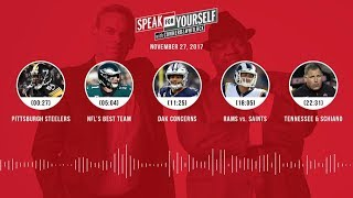 SPEAK FOR YOURSELF Audio Podcast (11.27.17) with Colin Cowherd, Jason Whitlock | SPEAK FOR YOURSELF