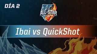 IBAI VS QUICKSHOT - 1 VS 1 - Día 2 - #AllStar2016 - AllStar en Castellano!