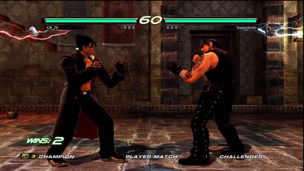 Tekken 6 Paul Phoenix vs Devil Jin & Jin Kazama Matches #3 ...