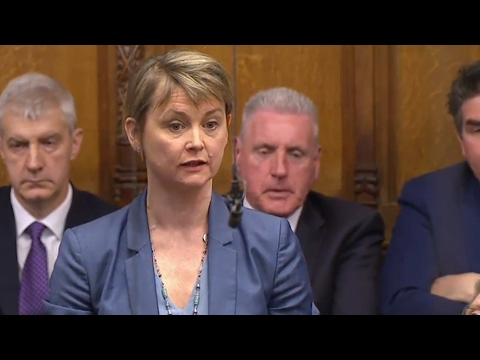 Yvette Cooper: we cannot believe a single word Theresa May says