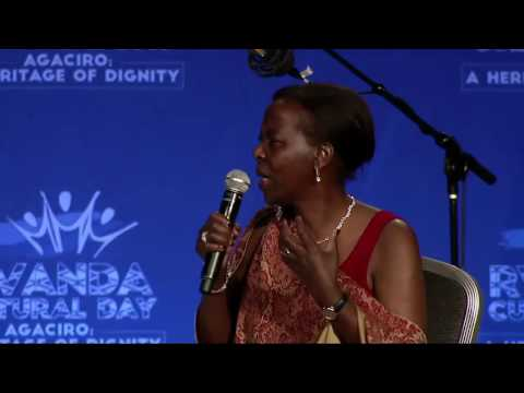 Panel discussion at Rwanda Cultural Day in  San Francisco,  24 Sept 2016