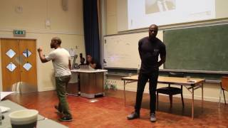 pt1 - Andy Ayim and MrWorkSmarter at Amos Bursary Conference