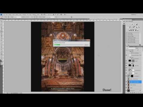 "Making of - ""St  John's Co Cathedral - Valletta, Malta (HDR Vertorama)"""