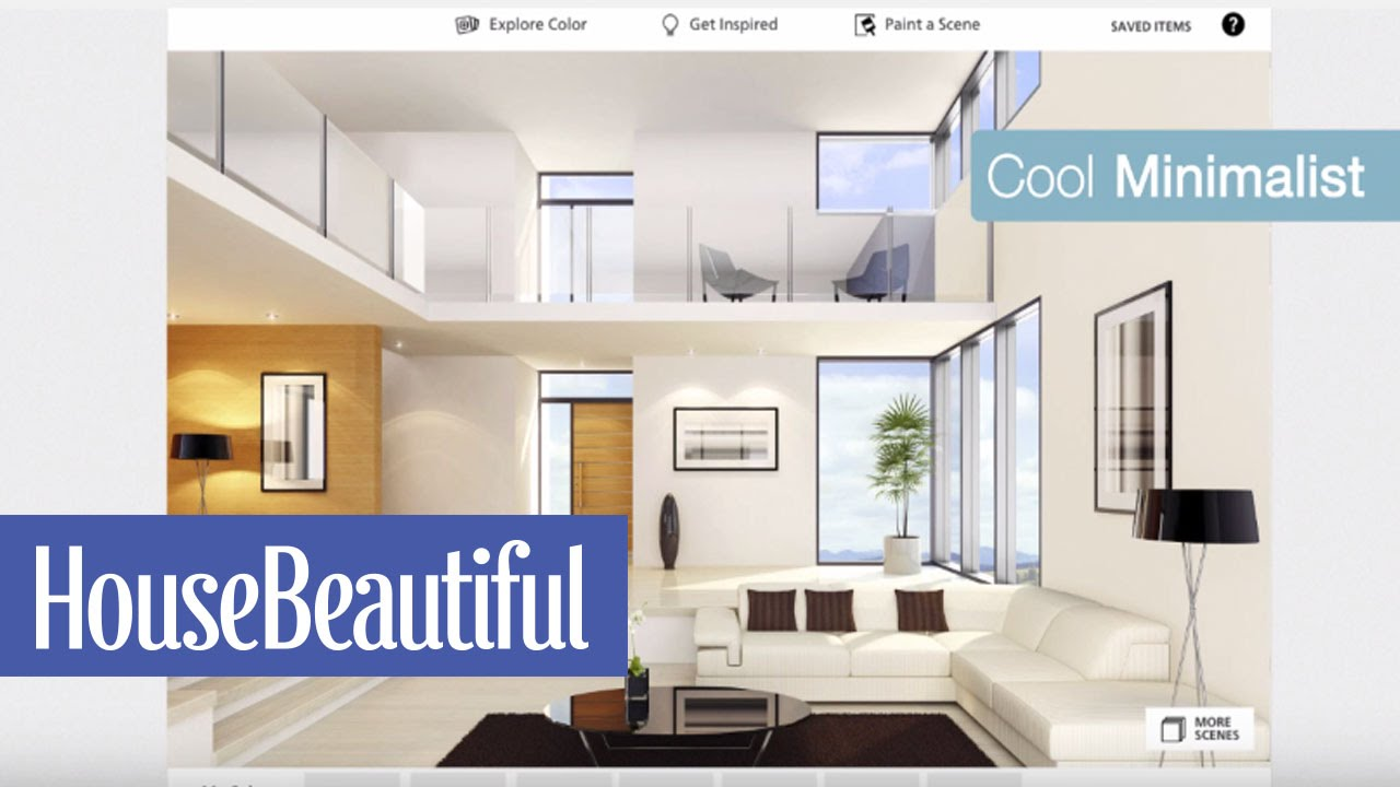 Decorating With Paint | House Beautiful - YouTube