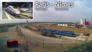 SNCF / Paris - Nimes, France. Part 2