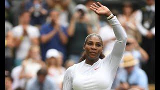 Breaking News -  Serena Williams beats Viktoriya Tomova to reach Wimbledon third round