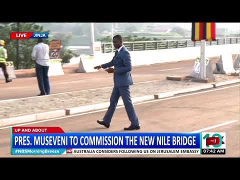Up and About: The New Bridge Excites Jinja Residents