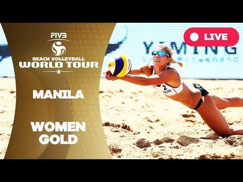 Manila - 2018 FIVB Beach Volleyball World Tour - Women Gold Medal Match
