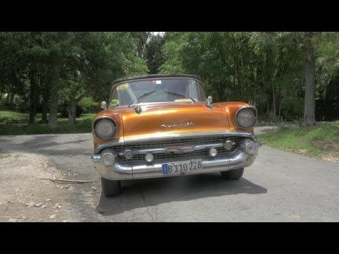 1957 Chevy Bel Air Review | Autoblog in Cuba