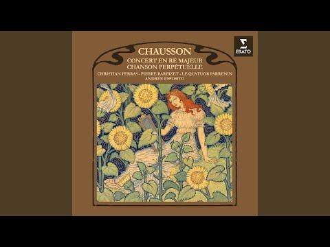 Chanson perpétuelle, Op. 37
