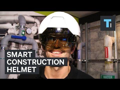 Smart construction helmet
