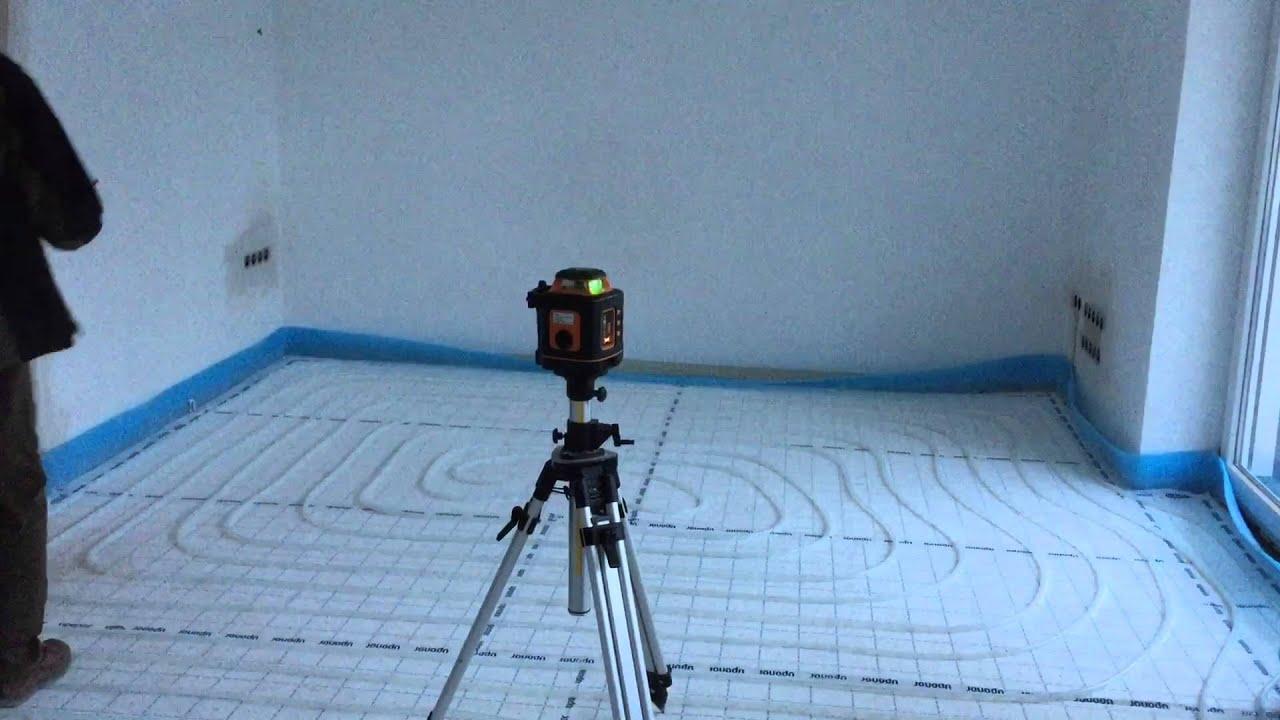 Laser Entfernungsmesser Bauhaus : Meterriss im einsatz ausmessen der höhe via laser youtube