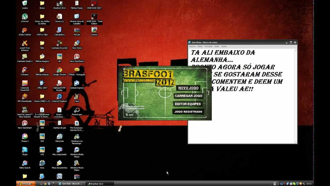 AS COM GRATIS LIGAS BAIXAR 2011 REGISTRO E TODAS BRASFOOT