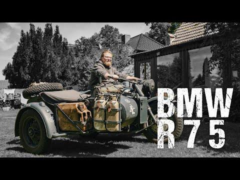 BMW R75 - Gespann Der Wehrmacht [Review]