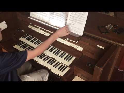 Prince of Denmark March on Allen Organ