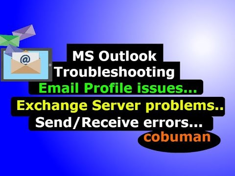 Troubleshooting Outlook, Desktop Support And Help Desk